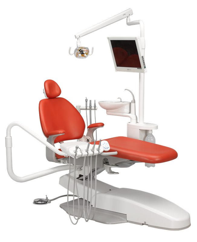 A Dec Performer Dental Tannlege Stol Og Unit Driftsikker